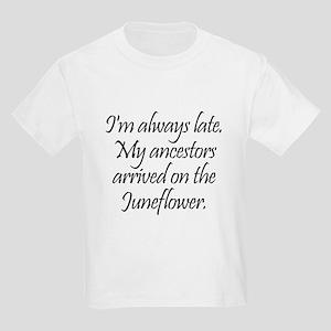 Late Ancestors Kids Light T-Shirt