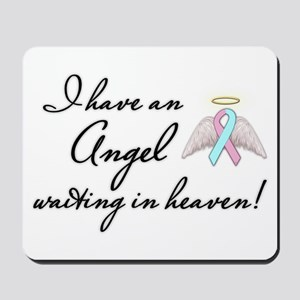 Angel Waiting Mousepad