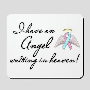 Angel Waiting Mousepad