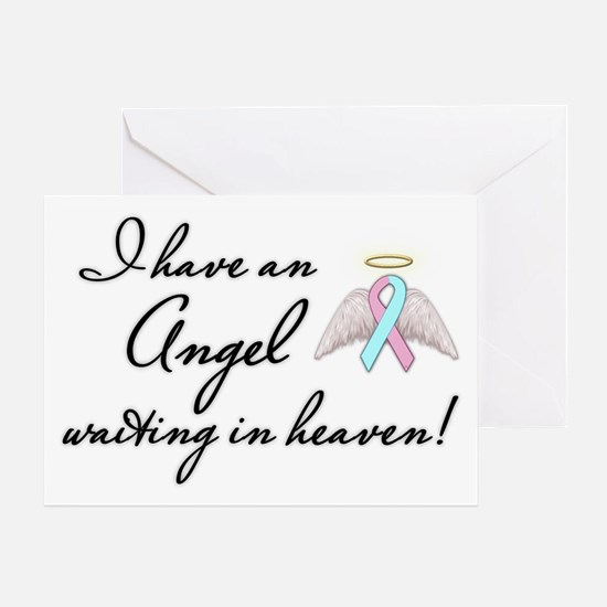 Angel Waiting Greeting Card