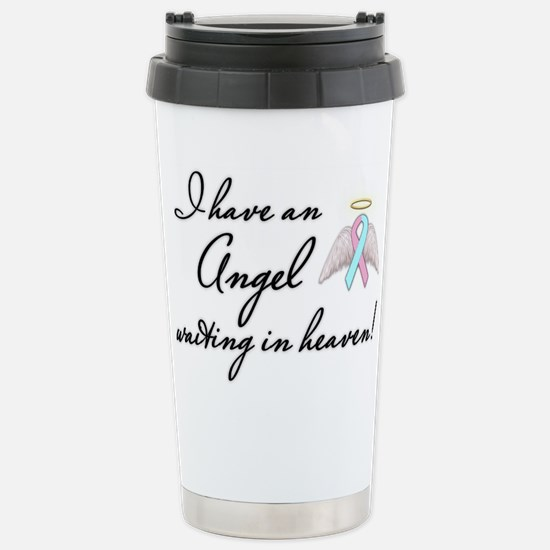 Angel Waiting Stainless Steel Travel Mug