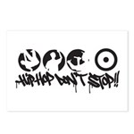 Hip-hop don't stop !! Postcards (Package of 8)
