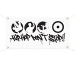 Hip-hop don't stop !! Banner