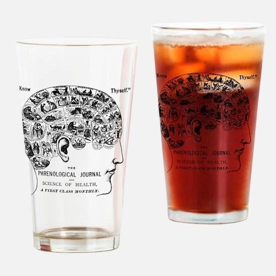 Unique Psychiatry Drinking Glass