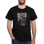 Manet Painting Color Quote Black T-Shirt