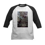 Manet Painting Color Quote Kids Baseball Jersey
