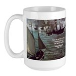 Manet Painting Color Quote Large Mug