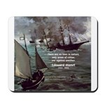 Manet Painting Color Quote Mousepad