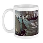 Manet Painting Color Quote Mug
