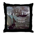 Manet Painting Color Quote Throw Pillow