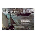 Manet Painting Color Quote Postcards (Package of 8