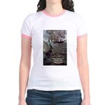 Manet Painting Color Quote Jr. Ringer T-Shirt