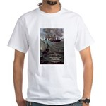 Manet Painting Color Quote White T-Shirt