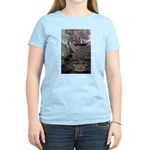 Manet Painting Color Quote Women's Pink T-Shirt