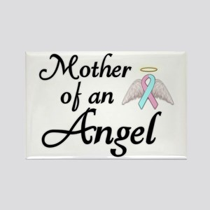Mother of an Angel Rectangle Magnet