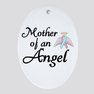 Mother of an Angel Ornament (Oval)
