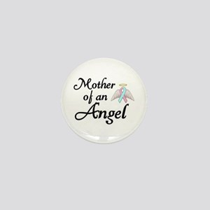 Mother of an Angel Mini Button