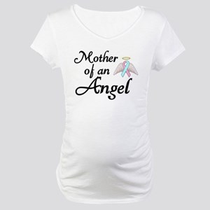 Mother of an Angel Maternity T-Shirt