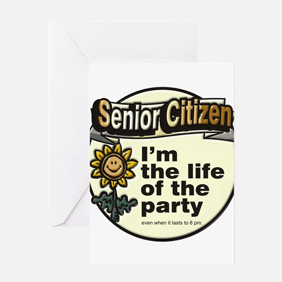 Senior Citizen's ~ Greeting Card