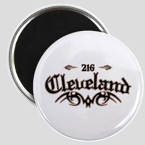 Cleveland 216 Magnet
