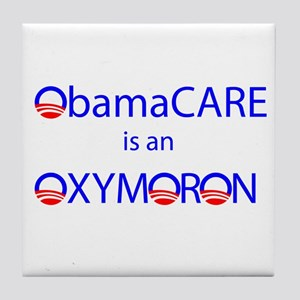 ObamOxymoron Tile Coaster