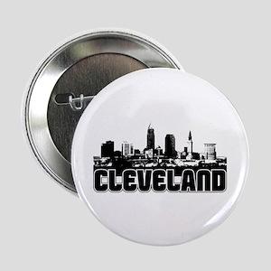 """Cleveland Skyline 2.25"""" Button"""