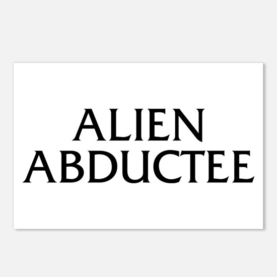 Alien Abductee Postcards (Package of 8)