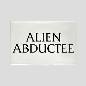 Alien Abductee Rectangle Magnet