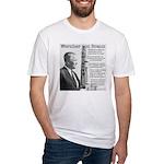Wernher von Braun Fitted T-Shirt
