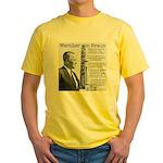 Wernher von Braun Yellow T-Shirt