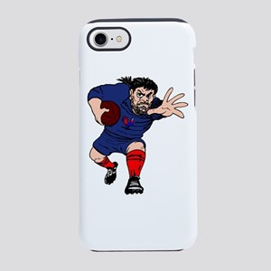 French Rugby Forward iPhone 7 Tough Case