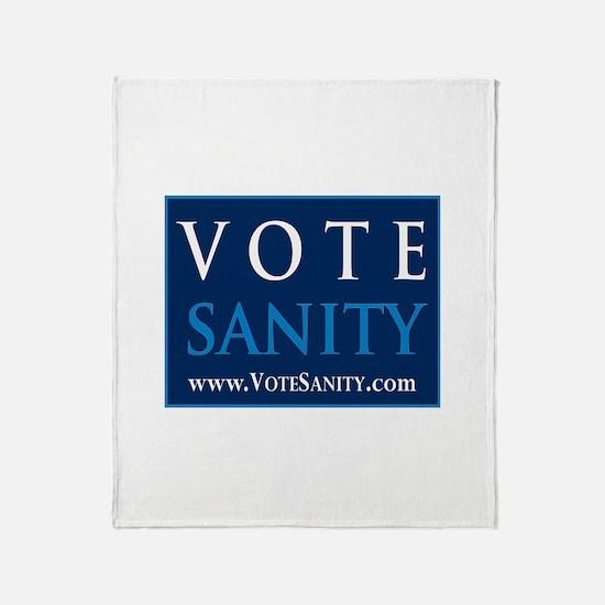 Funny Idealist Throw Blanket