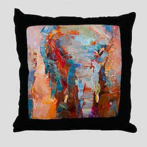 Throw Pillow by Marsha Heimbecker