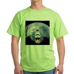 Earth and the space shuttle Green T-Shirt
