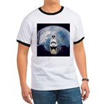 Earth and the space shuttle Ringer T