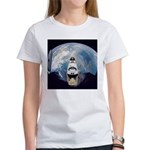 Earth and the space shuttle Women's T-Shirt