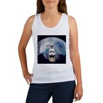 Earth and the space shuttle Women's Tank Top