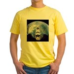 Earth and the space shuttle Yellow T-Shirt