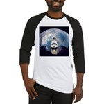 Earth and the space shuttle Baseball Jersey