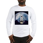 Earth and the space shuttle Long Sleeve T-Shirt