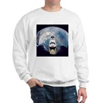 Earth and the space shuttle Sweatshirt
