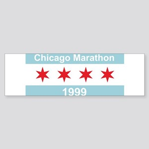 1999 Chicago Marathon Sticker (Bumper)