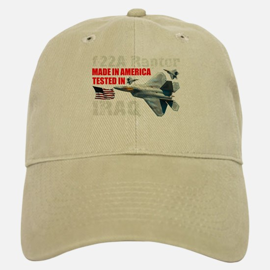 f-22A Raptor Made In America Baseball Baseball Cap