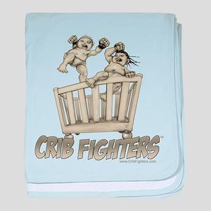 Crib Fighters - Crib Battle Infant Blanket