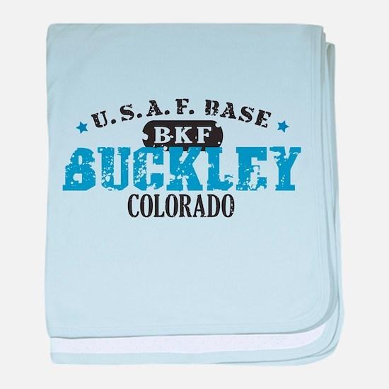 Buckley Air Force Base Infant Blanket