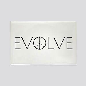 Evolve Peace Narrow Rectangle Magnet