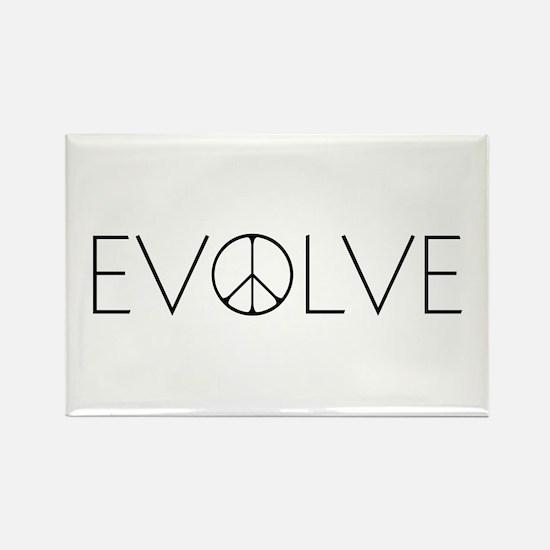 Evolve Peace Narrow Rectangle Magnet