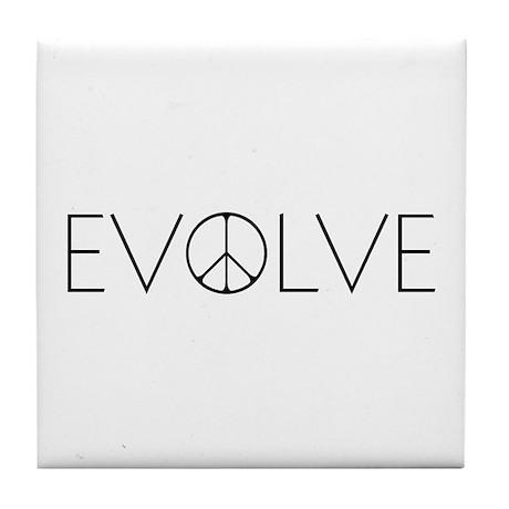 Evolve Peace Narrow Tile Coaster