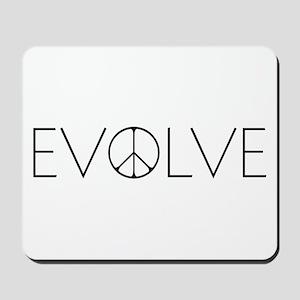 Evolve Peace Narrow Mousepad
