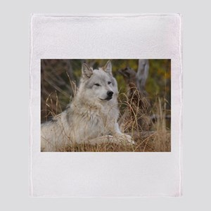 Wolf Pack Throw Blanket